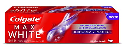 Colgate Max White - Pasta dentífrica, 75 ml
