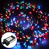 Amazon Price History for:Excelvan Safe Low Voltage 500 LEDs 100M/328FT Dimmable Fairy String Lights with 8 Modes for Bedroom Patio Garden Gate Yard Party Wedding Christmas Decoration, Multi Color