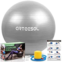 Deals on Arteesol Exercise Yoga Ball 65cm