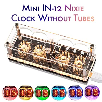 Amazon com: Nobsound Nixie Tube Clock DIY (Without Tubes