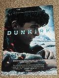 Dunkirk Cinemark POSTER 13.5x19 Inch Movie Promo Poster