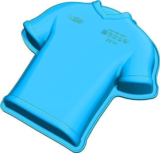 Unbekannt SFT339 Molde de Silicona con Forma de Camiseta de fútbol ...