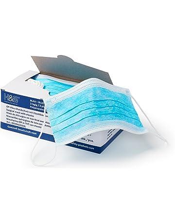 Mascarilla Cirujano 3 capas de ISC H&S, caja de 50 unidades (azul) |