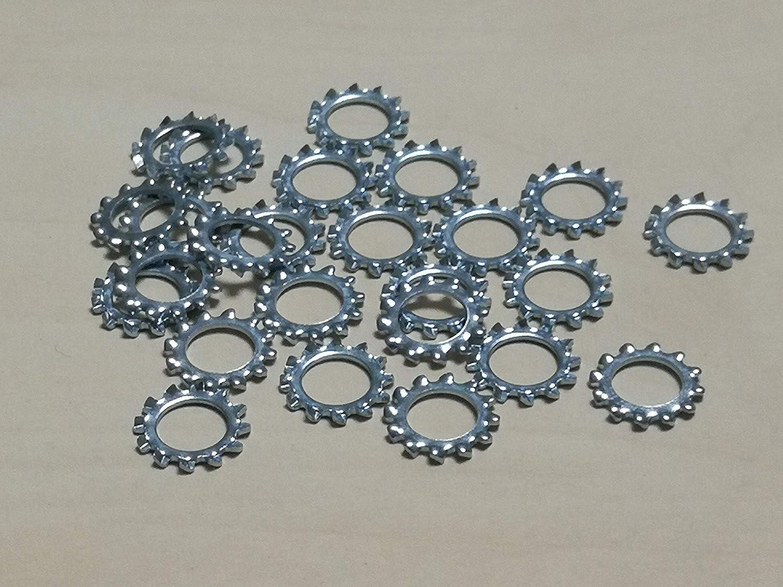 25 St/ück Federringe DIN 127 Form B Stahl galvanisch verzinkt Verzinkter Stahl, M10