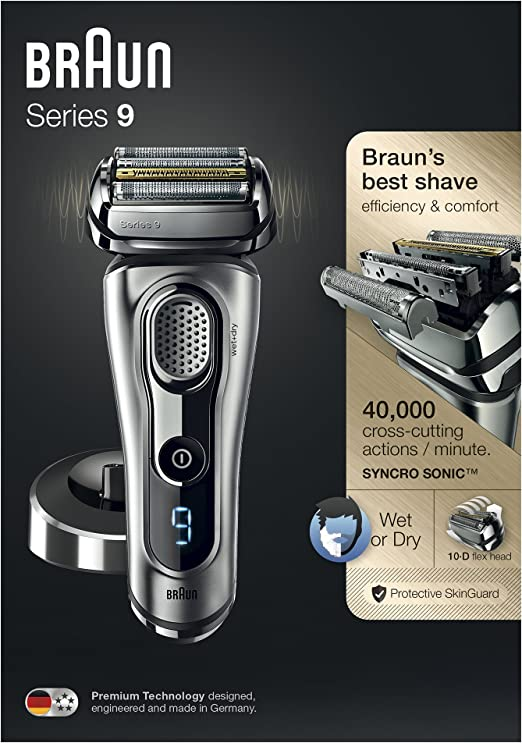 Braun Series 9 9260s Wet and Dry - Máquina de afeitar de láminas ...