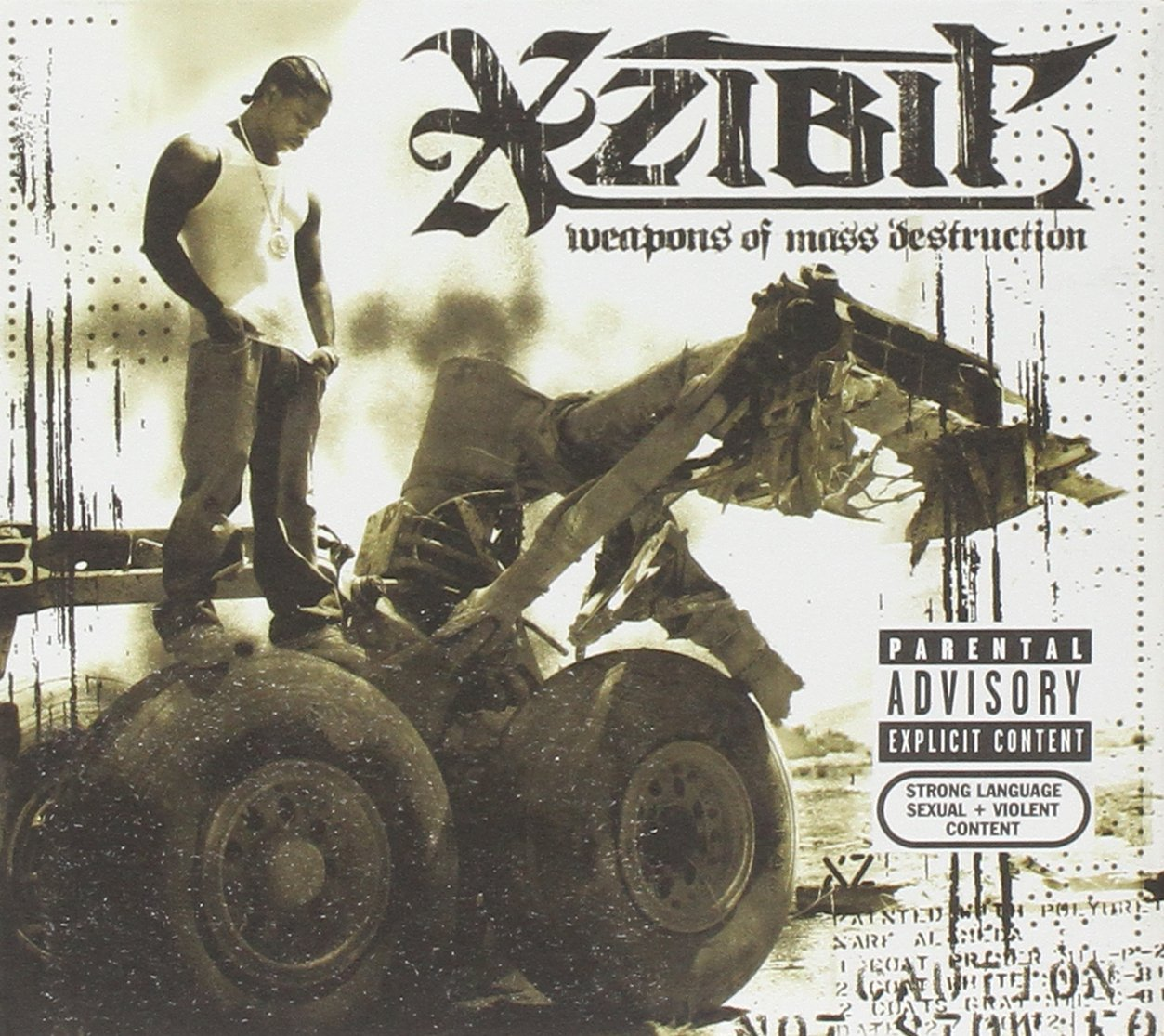 Xzibit Weapons Of Mass Destruction Cd Dvd Amazon Com Music