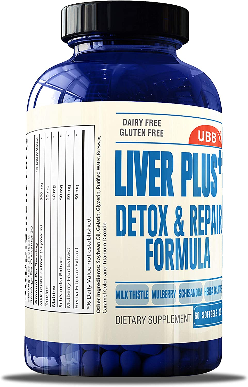 Liver Cleanse Detox Supplement for Liver Health Support ...