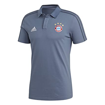 57b47baa705 Image Unavailable. Image not available for. Color: adidas 2018-2019 Bayern  Munich UCL Training Polo Football ...