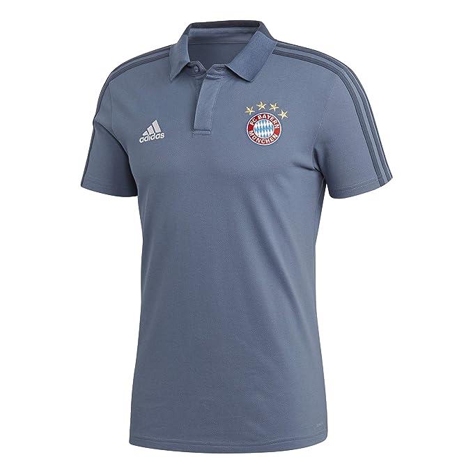 adidas 18/19 FC Bayern Cotton Polo, Hombre: Amazon.es: Deportes y ...