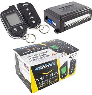 Amazon.com: 2-Way Car Alarm Security Alarm w/ LCD Status ...