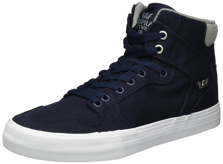 Supra Vaider, Zapatillas Altas Hombre 45 EU Azul (Navy-white)