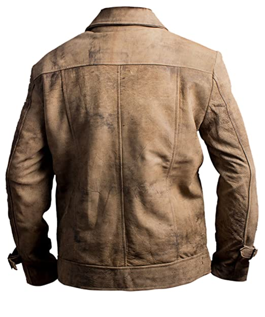 Amazon.com: Mens Leather Jacket - The Expendables 2 Jason ...