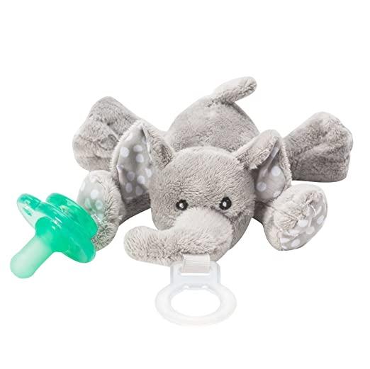Amazon.com: nookums paci-plushies elefante Buddies – Soporte ...