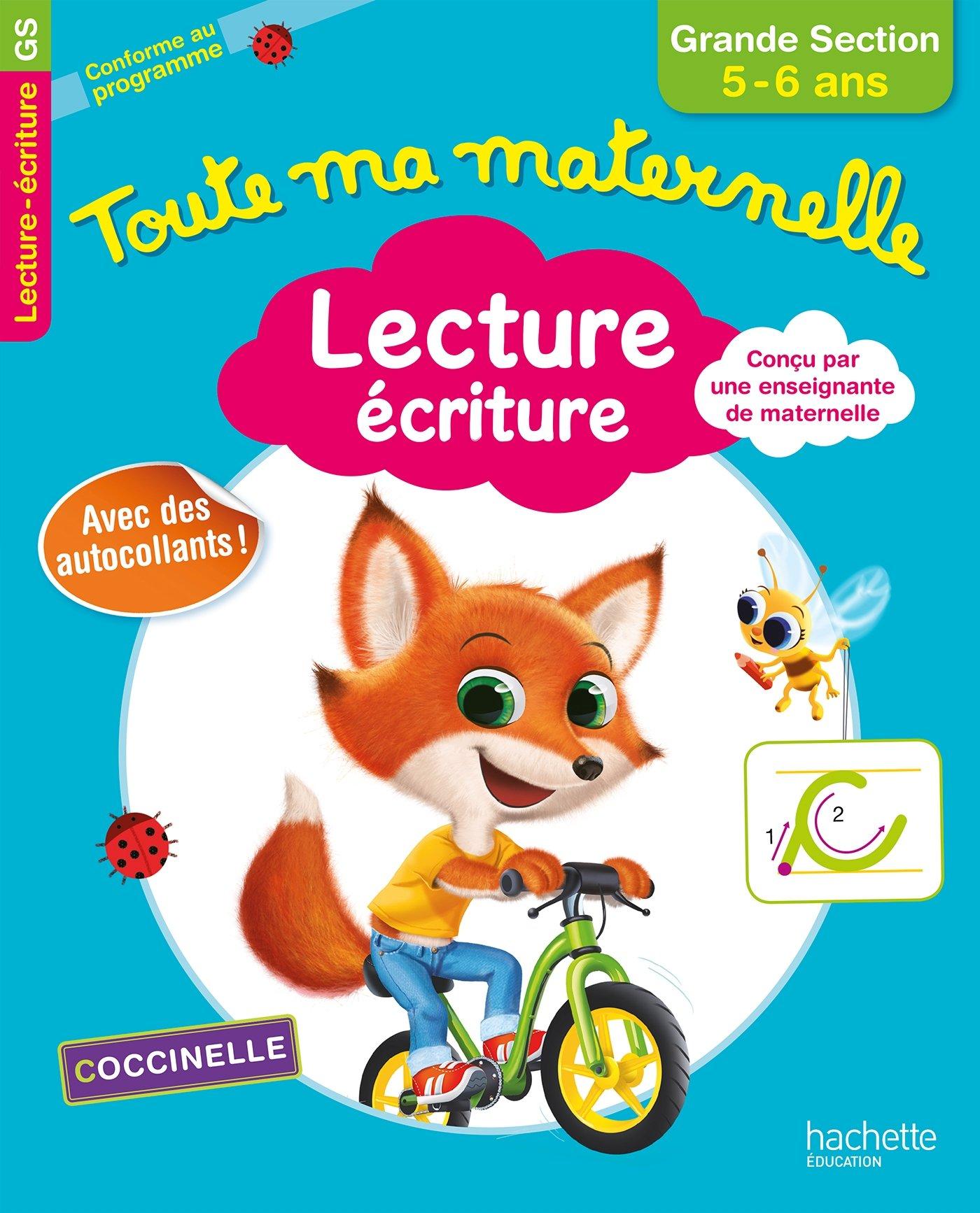 Toute Ma Maternelle - Lecture Écriture Grande Section 5/6 ...