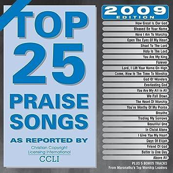 Top 25 Praise Songs 2009