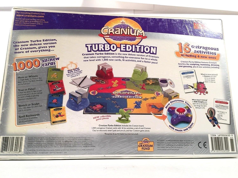 Amazon.com: Baseman Cranium Turbo Edition 1000 New Cards 6 New Activities New in Box: Kitchen & Dining