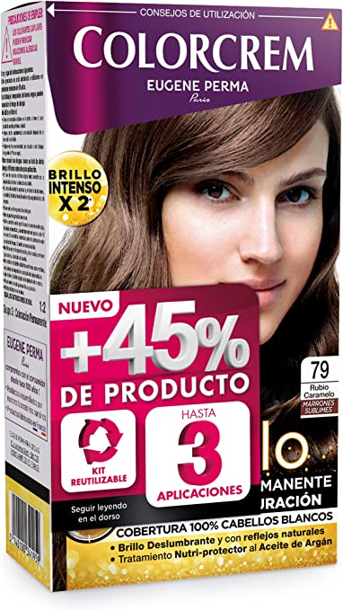 Colorcrem Color & Brillo Colorcrem +45 79 Rubio Caramelo 229 ...