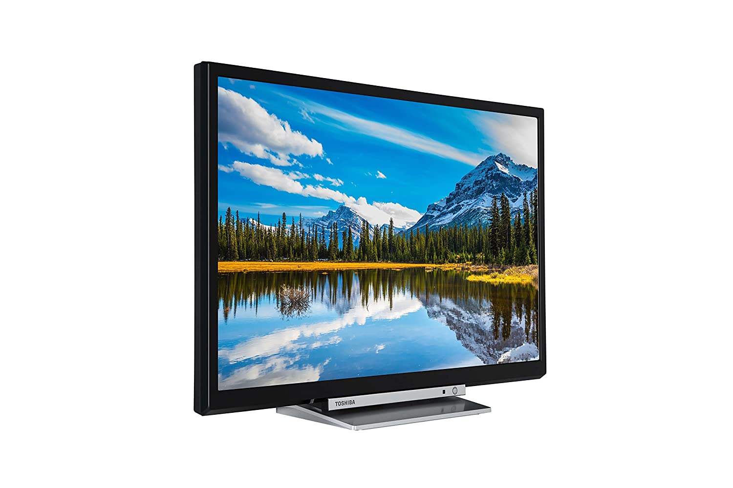 Toshiba 24D3863DB 24-Inch HD Ready Smart TV with Freeview Play and ...