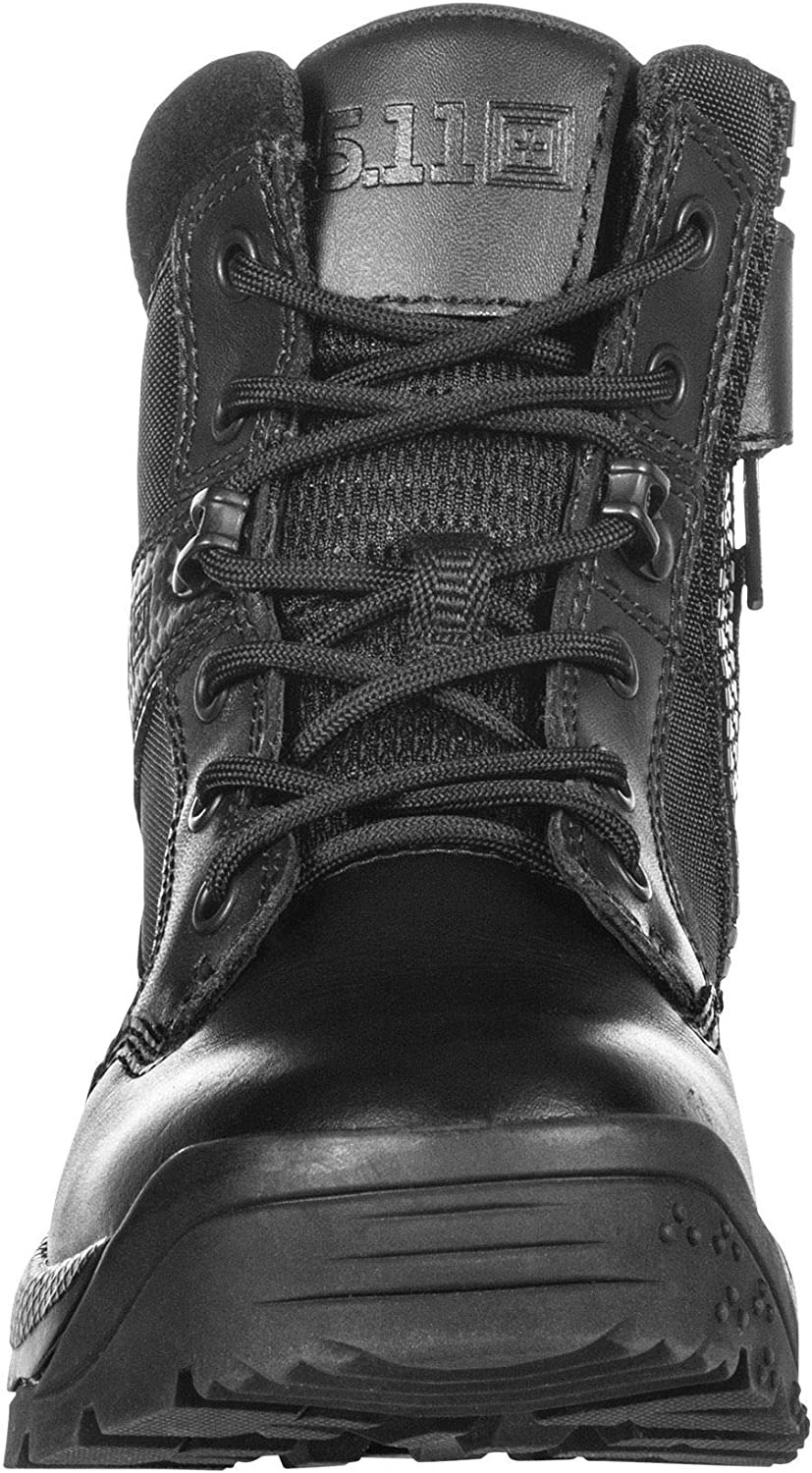 5.11 Womens ATAC 2.0 6 Tactical Side Zip Military Combat Boot Style 12404 Black