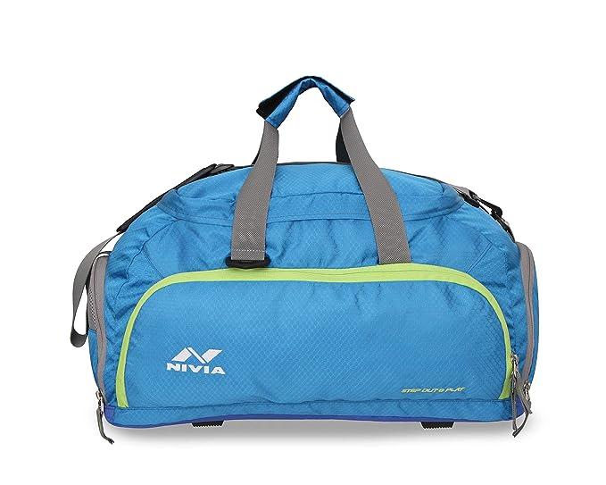 Nivia Carrier 3 Duffle Bag Gym Bags