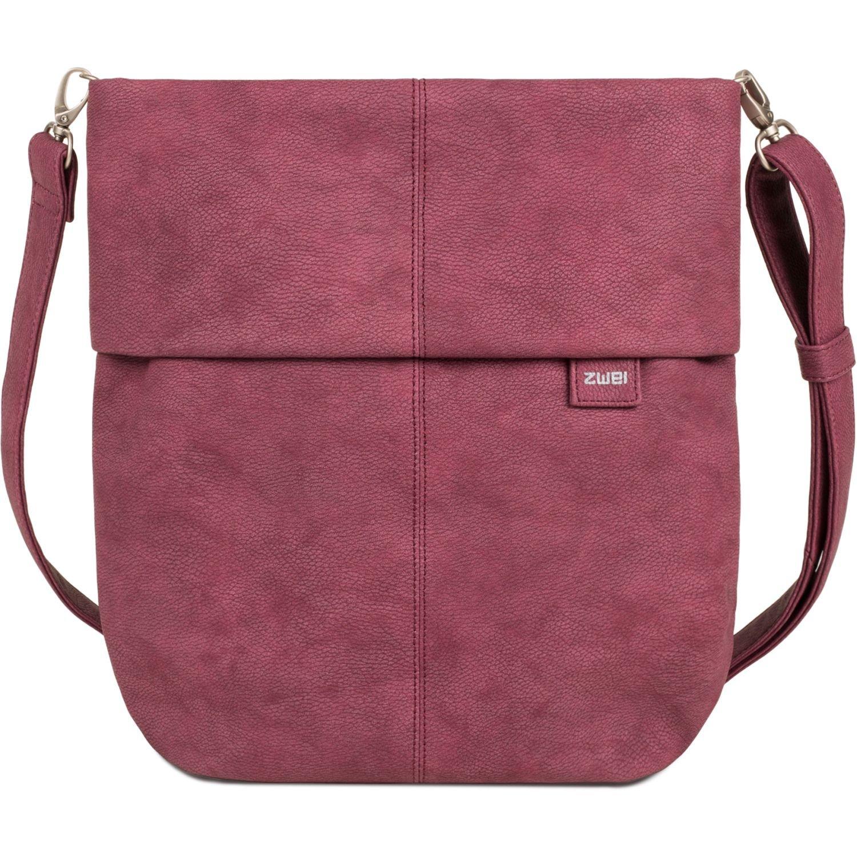 cf5fc5f7a4e79d zwei Mademoiselle M12 Umhängetasche 31 cm nubuk-berry: Amazon.de: Schuhe &  Handtaschen