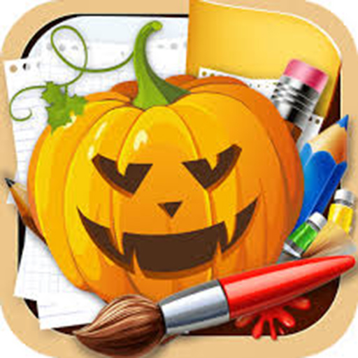 (Halloween photo frame Photo)