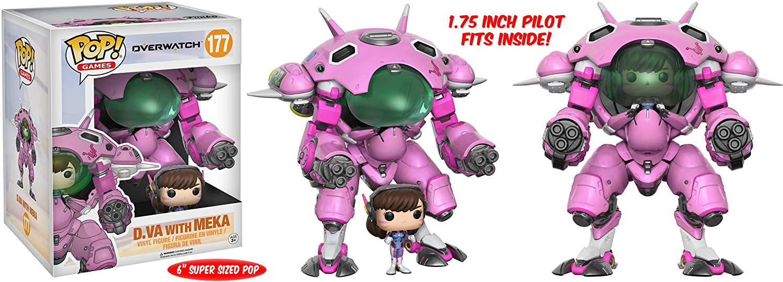 boite figurine pop overwatch d.va