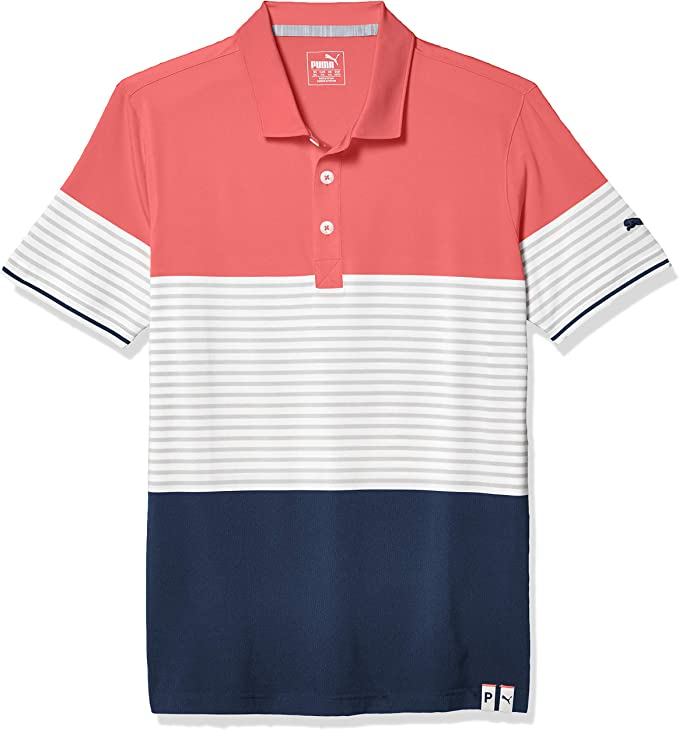 PUMA Golf 2021 Men's Cloudspun Taylor Polo