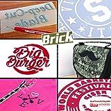 Siser Brick 600 Iron On Heat Transfer Vinyl