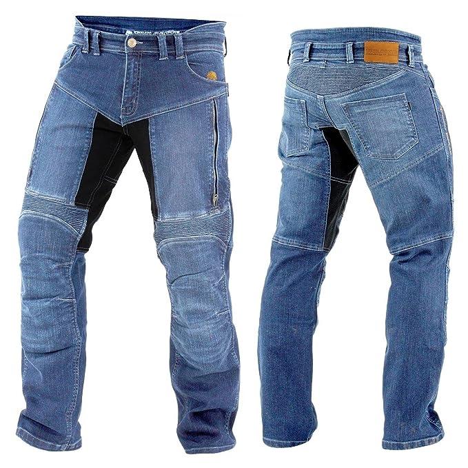 Trilobite Kevlar Jeans Paradon TÜV Herren Blau: Amazon.es ...
