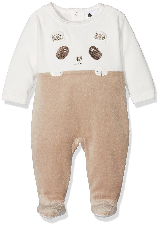 Z Baby Boys' Dors-bien Panda En Relief Onesie 1K54265