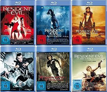 Resident Evil 1 6 Komplett Set Fsk 18 Deutsche Originalware 6 Blu