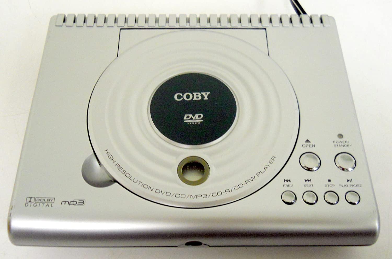 Coby Ultra Compact DVD Player DVD-206