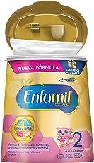 Enfamil Formula Infantil 6 a 12 Meses, Etapa 2, Bote de 800 gr