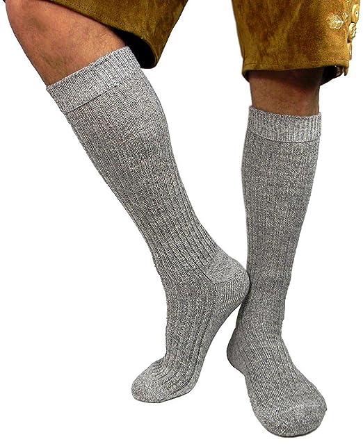 Medias para hombres, para traje típico tirolés, color gris ...