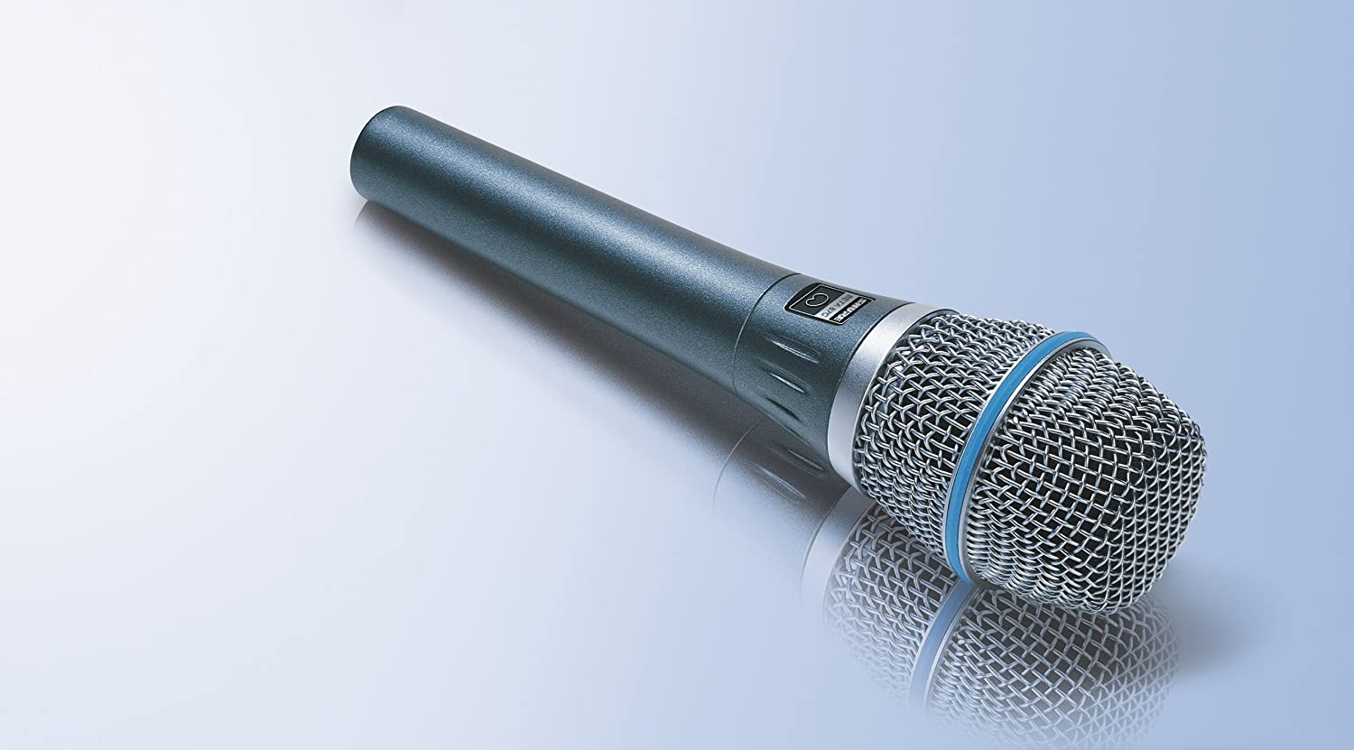 Shure BETA87C Cardioid Condenser Microphone for Handheld Vocal Applications Shure Incorporated