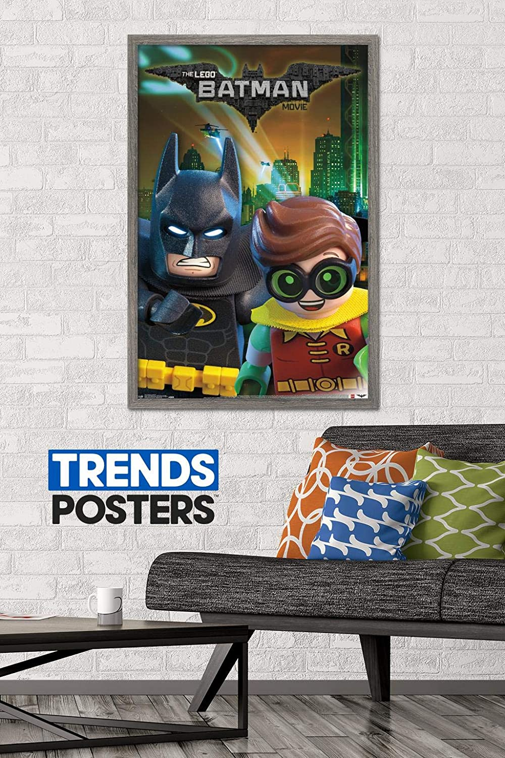 Trends International Lego Batman and Robin Wall Poster, 22.375
