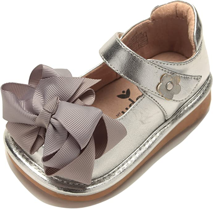 Mooshu Trainers Trudy White Sandal Girls Squeaky Shoes