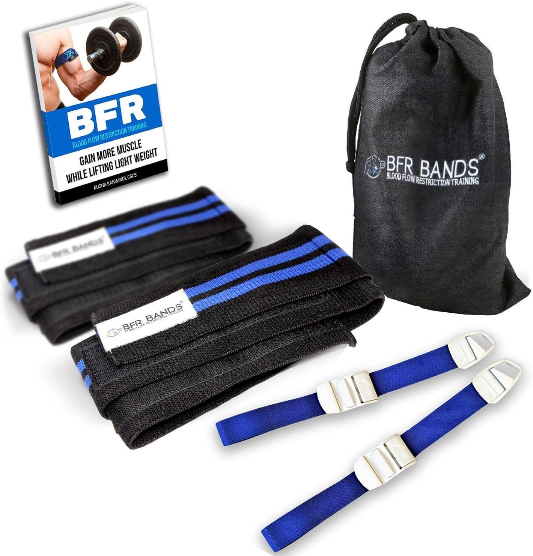 Blau Okklusion Training Band Blutkreislauf Einschränkung Band Muskelwachstum