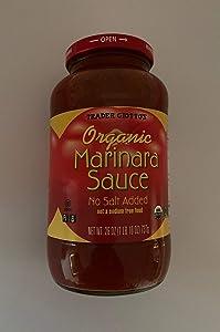 Trader Joe's - Trader Giotto's Organic Marinara Sauce, No Salt Added, 26 oz.