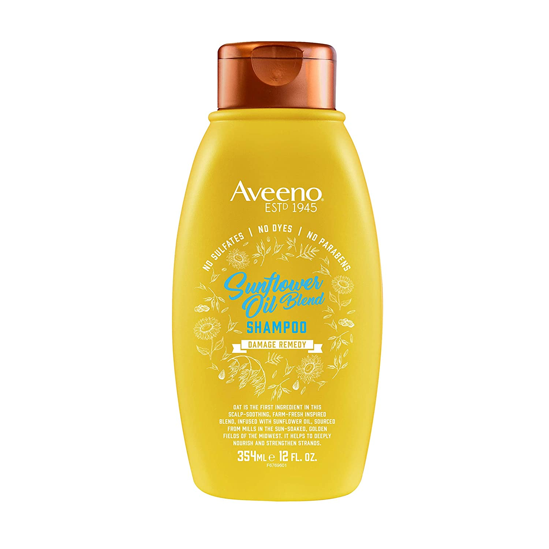 Aveeno Sunflower 7-oil Blend Shampoo, 12 ounces