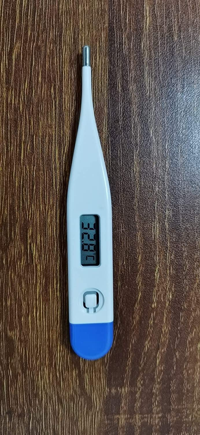 Digtae Oral Digital Thermometer for Fever Accurate and Readings in 10-20 Seconds,LCD Digital Thermometer Temperature Measurement Mouth for Baby Kids and Adult