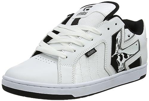 Etnies Metal Mulisha Fader 2, Zapatillas de Skateboard para Hombre, Blanco (White/Black/Grey), 42.5 EU: Amazon.es: Zapatos y complementos
