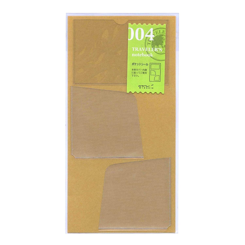 Midori Traveler's Notebook - Refill 004 - Pocket Sticker 14248006 juritan_0017519075_KDM_074