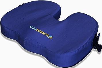 Amazon.com: PREMIUM postura ortopédica cojines para asiento ...
