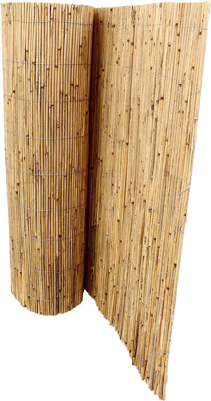 Amazon De Bambus Discount Com Schilfrohrmatten Premium Fur Balkon