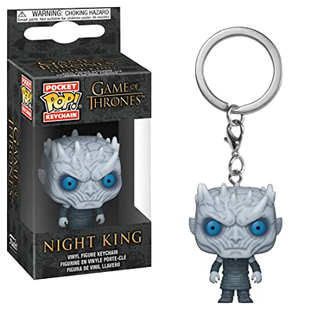 Funko Pop Keychain: Game of Thrones - Night King Collectible Figure, Multicolor