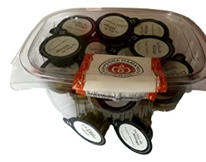 Variety Pack Balsamic Vinegar and Olive Oil (20 individual servings), vinagre balsamico , Aceite de oliva virgem extra perfect for salad dressing, full-bodied flavor from Spain