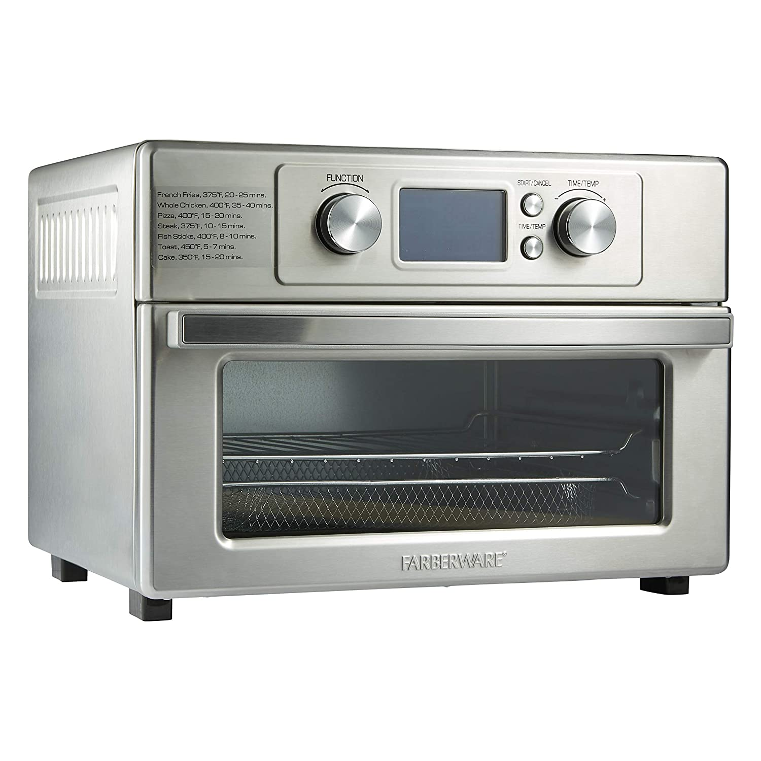 Farberware Air Fryer Toaster Oven – No Oil, No Splatter, No Mess