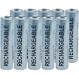 Rechargeable AAA 10 Pack 1000 mAh Batteries by Lenmar